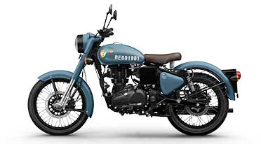 Royal Enfield launches Classic Signals 350 Airborne Blue, Stormrider Sand