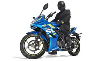 Suzuki Motorcycle BS-IV products come with new features and colours