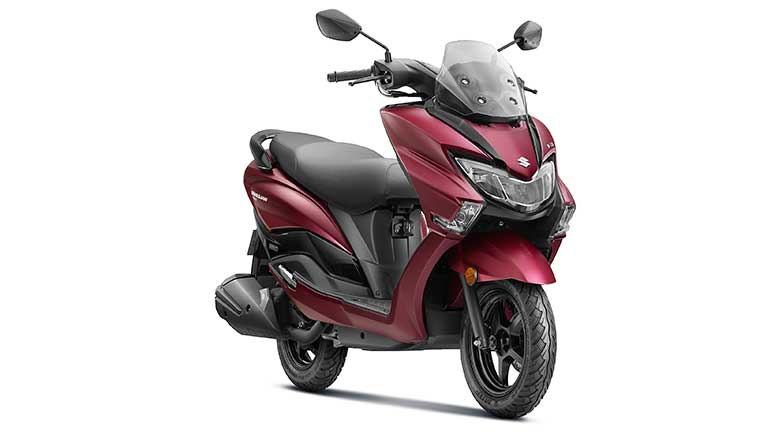 Suzuki Motorcycle launches Burgman Street BS6 model at Rs 77900