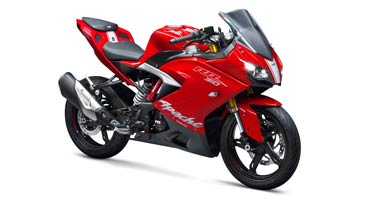 TVS Apache RR 310 launched for Rs 2.05 lakh