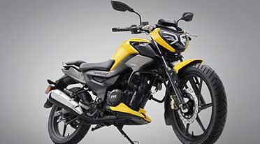 TVS Raider 125cc motorcycle launched at Rs 77500 onward