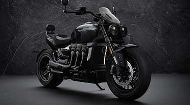 Triumph launches new Rocket 3 R Black, Rocket 3 GT Triple Black Limited Editions