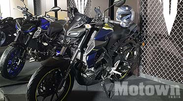 Yamaha MT-15 (155cc) motorcycle launched at Rs 1,36,000