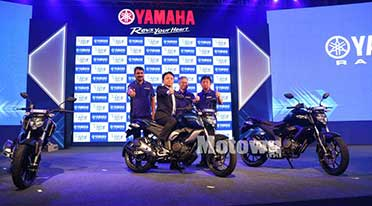 Yamaha updates motorcycle range with ABS, launches FZ FI and FZS FI Version 3.0