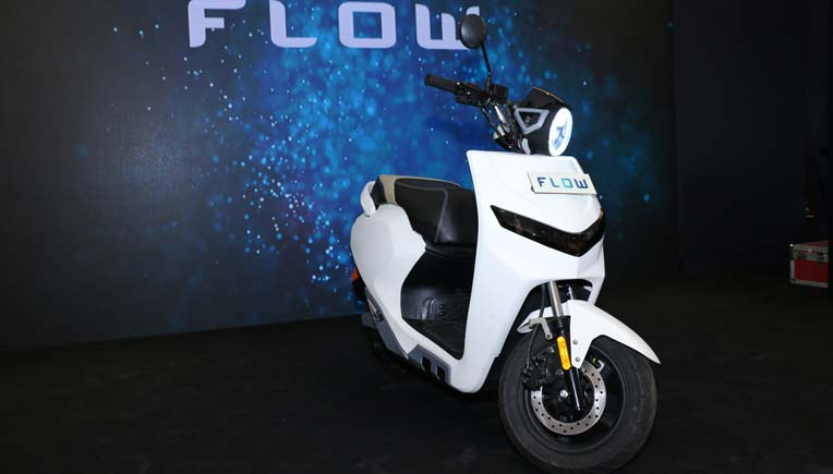 Twenty Two Motors unveils prototype of smart scooter Flow