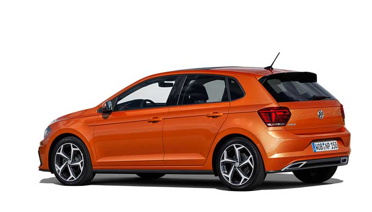 new 6th generation volkswagen polo unveiled in germany. Black Bedroom Furniture Sets. Home Design Ideas