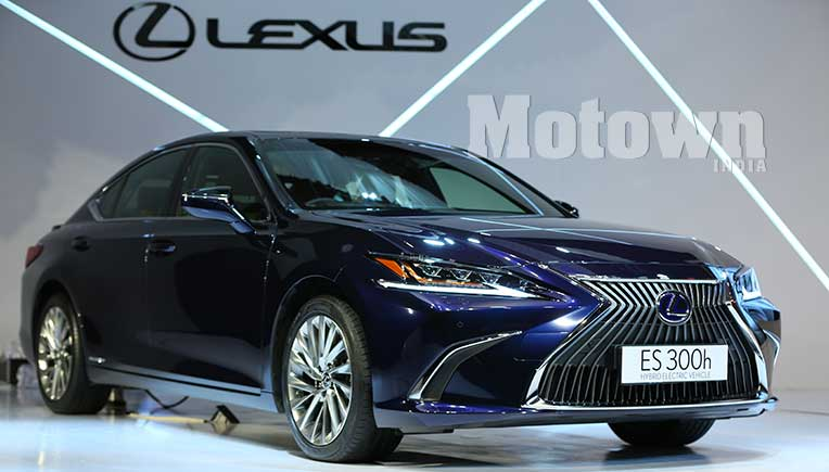 All New Lexus ES 300h hybrid electric sedan now in India at Rs 59.13 lakh