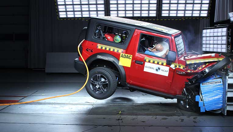 All-New Mahindra Thar receives GNCAP 4-star safety rating