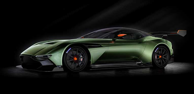 Aston Martin's fire snorting Vulcan revealed