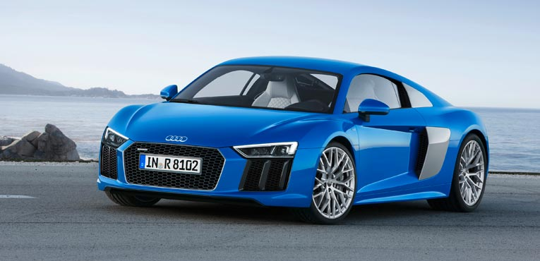 Audi presents second generation R8 sports car