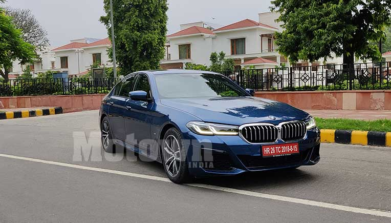 BMW India to launch 2021 all new BMW 5 series on June 24