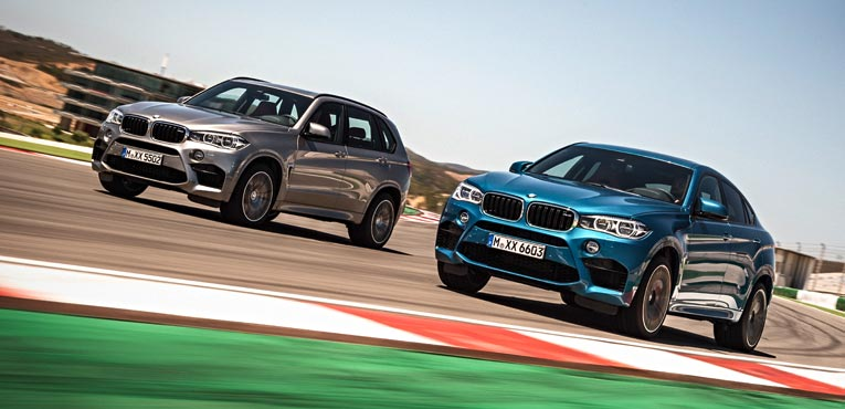 BMW debuts the X5M and the X6M in US