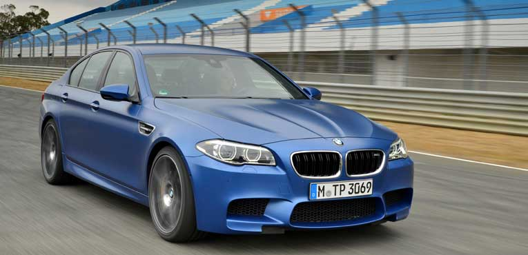 BMW's monstrous M5 now in India for Rs.1.35cr