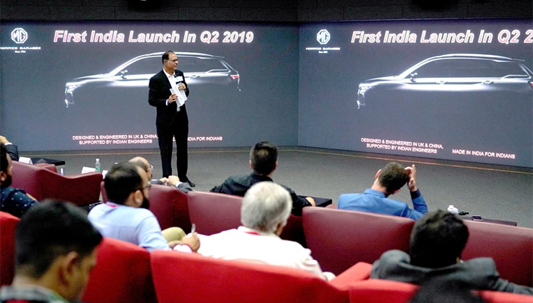 MG Motor announces plans to launch global electric SUV in India