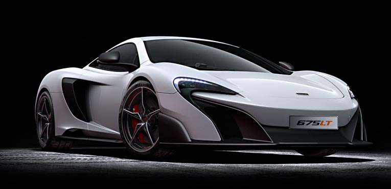 McLaren 675LT, a light weight champion