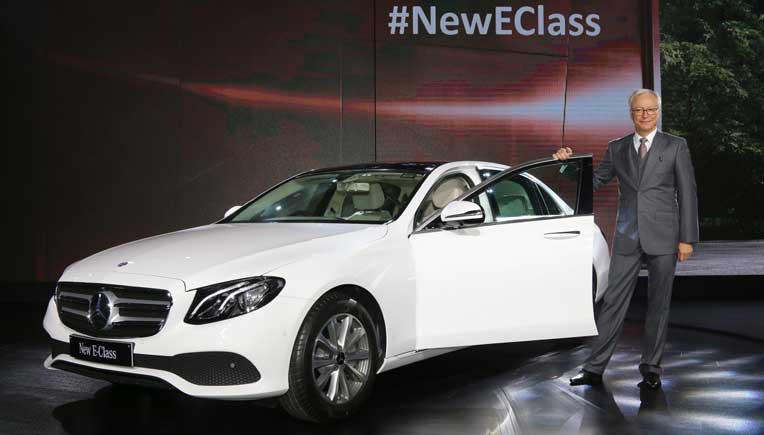 Mercedes-Benz Long Wheel Base new E-Class costs Rs 56.15 lakh onward