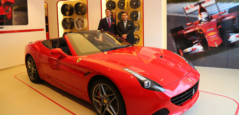 New Ferrari dealership inaugurated in New Delhi