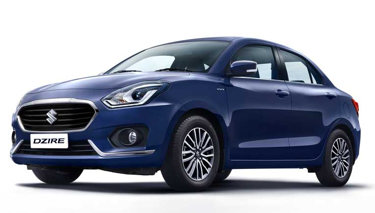 New Maruti Suzuki Dzire revealed, launch on May 16, 2017