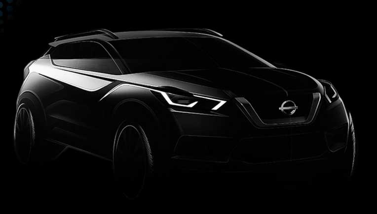 Sketch of the all-new Nissan Kicks revealed