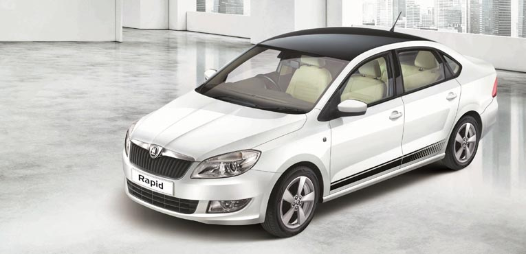 Skoda India introduces the Rapid 'Anniversary Edition' for Rs. 6.99 lakh