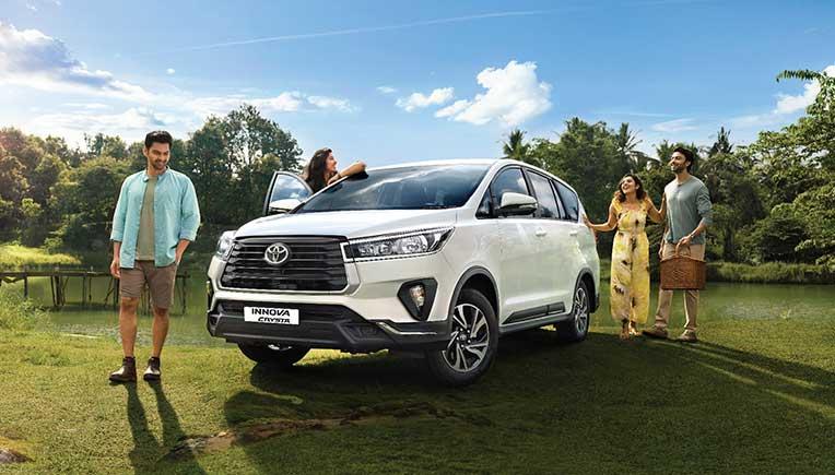 Toyota Kirloskar Motor launches Innova Crysta Limited Edition