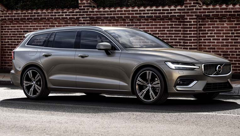 Volvo Cars unveils new five door mid-size V60 estate