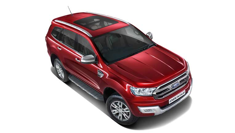 Ford Endeavour 2 2l Variant With Panoramic Sunroof For 29 57 200