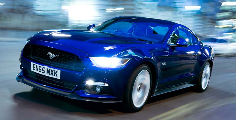 Ford Mustang Iconic Muscle Car Arrives With A Price Tag Of Rs Lakh