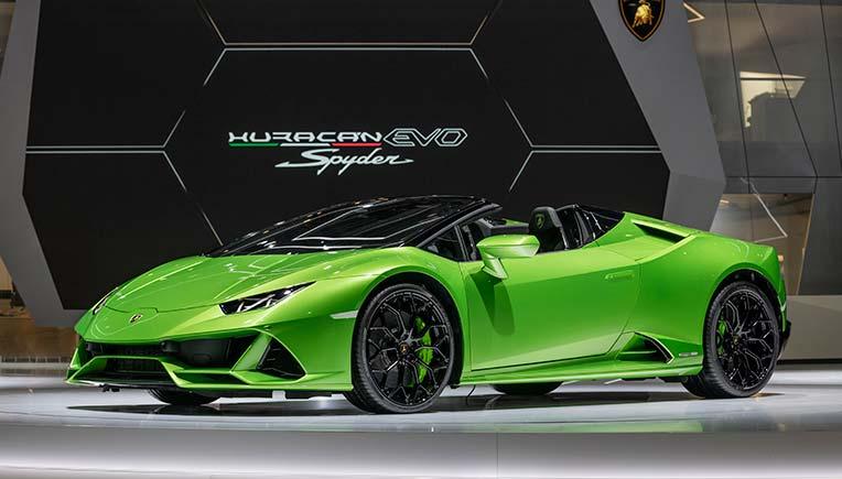Lamborghini Unveils Huracan Evo Spyder At Gims 2019