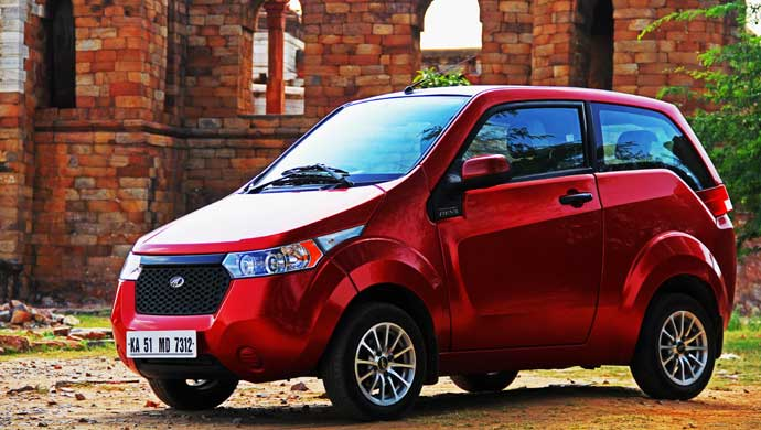 Mahindra Reva Slashes Prices Of Electric Car