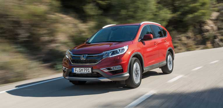 2015 Honda CR-V with a diesel engine and 9-speeds