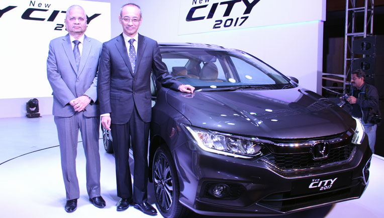 2017 Honda City launched for Rs. 8.49 lakh