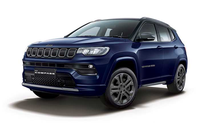 2021 Jeep Compass launched at Rs 16.99 lakh onward
