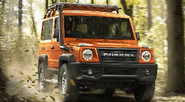 All-New Force Gurkha priced at Rs. 13,59,000