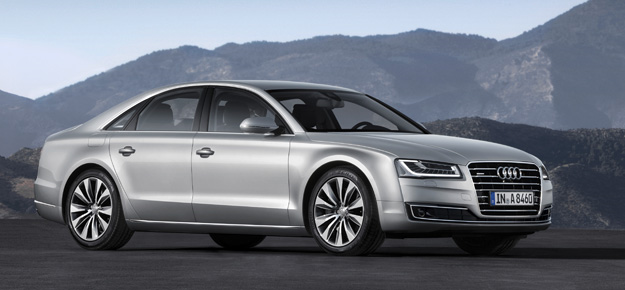 Audi A8 makes debut in India April- May 2014