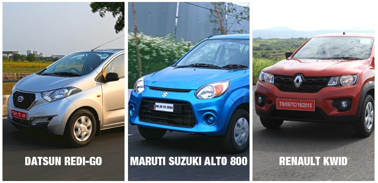 Can the Datsun Redi-GO take on the Alto 800 and the Kwid?