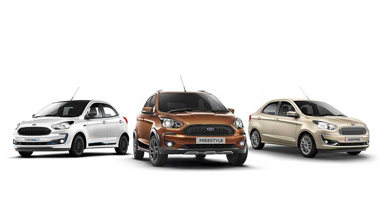 Ford Figo, Freestyle, Aspire now with BSVI compliance