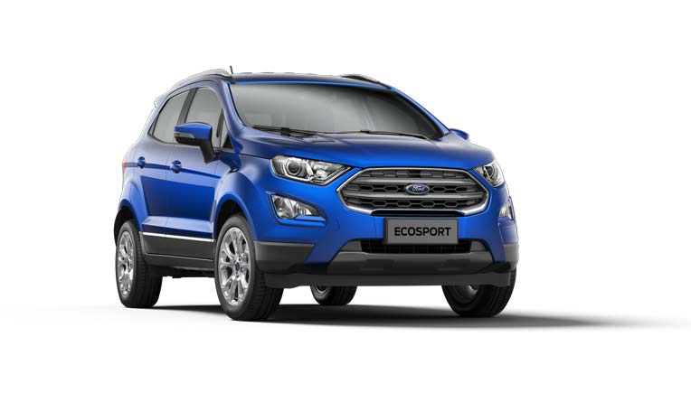 Ford launches new EcoSport Titanium+ with Manual Transmission