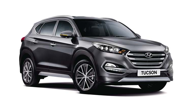 Hyundai launches Tucson 4-Wheel-Drive variant for Rs.25.19 lakh