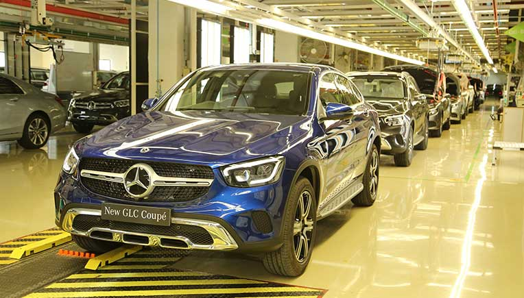 India made Mercedes GLC Coupé priced at Rs 62.70 lakh onward