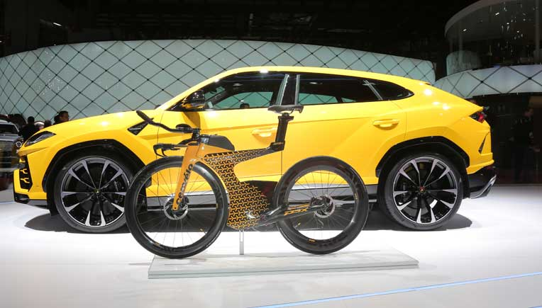 Lamborghini, Cervélo unveil limited-edition triathlon bicycle