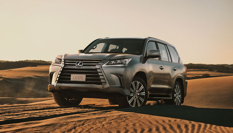 Lexus launches flagship SUV, LX 570 in India for Rs 2.32 crore; bookings open now