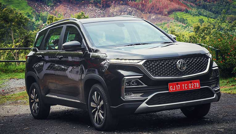 MG Hector connected SUV launched at Rs 12.18 lakh