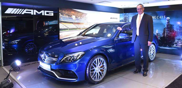Mercedes AMG C63 S launched for Rs.1.30 Crore