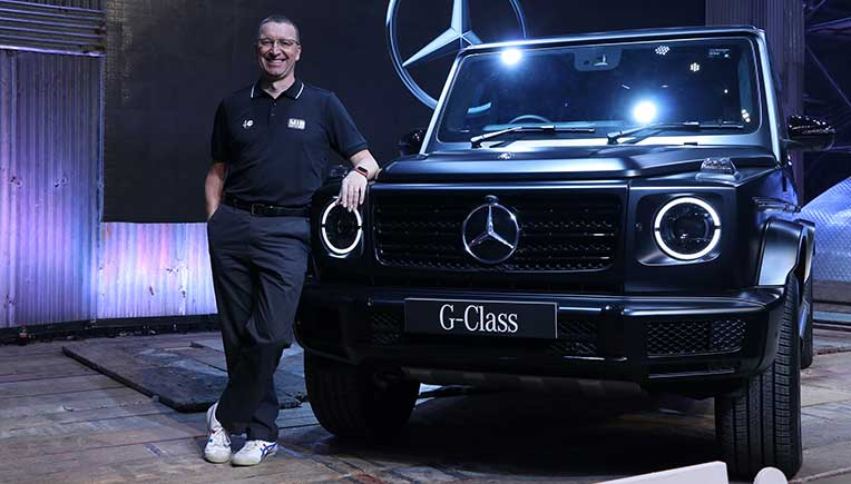 Mercedes-Benz brings in iconic G-Class - the G 350 d  at Rs.1.5 Crore