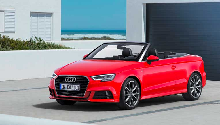 New Audi A3 Cabriolet for Rs 47.98 lakh