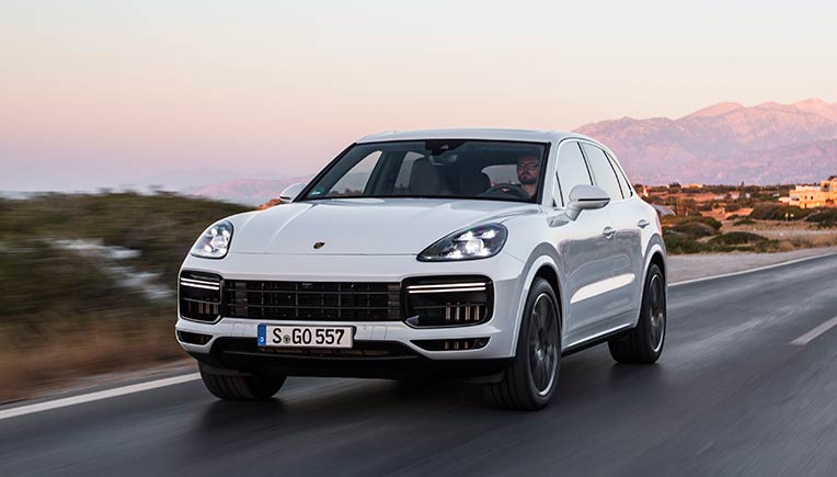 New Porsche Cayenne Turbo available in India from June onward