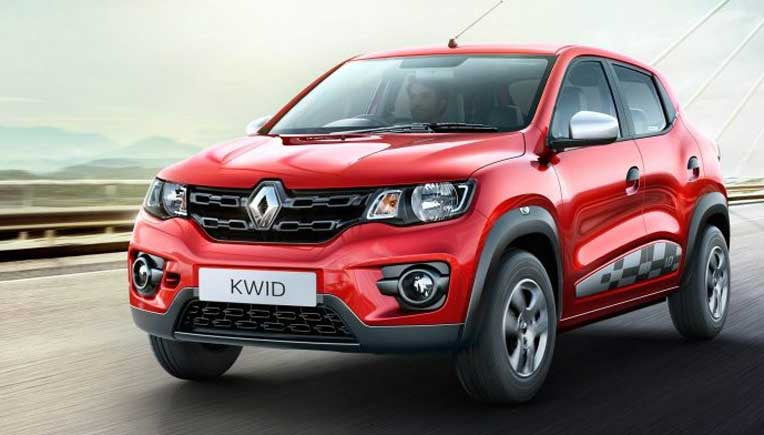 New Renault Kwid 1.0 litre RXL variant at Rs  3.54 lakh onward