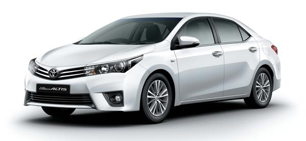 New Toyota Corolla Altis for Rs 11.99 lakh onwards