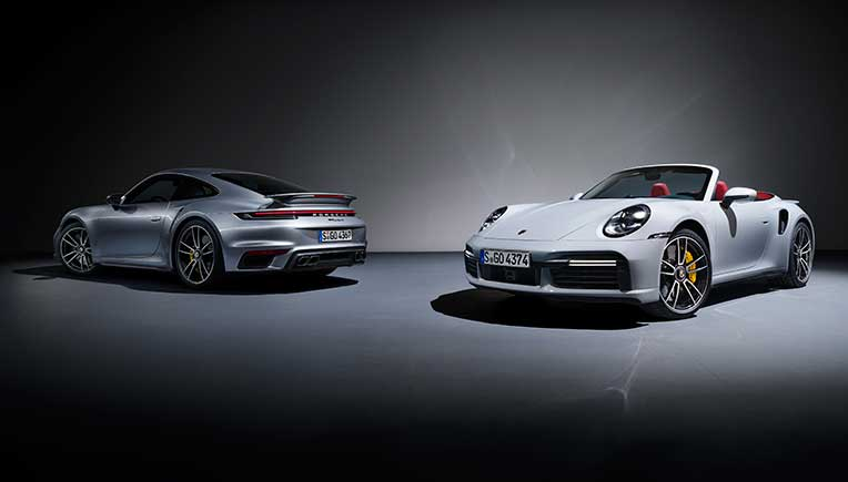 New gen Porsche 911 Turbo S Coupe and Cabriolet unveiled